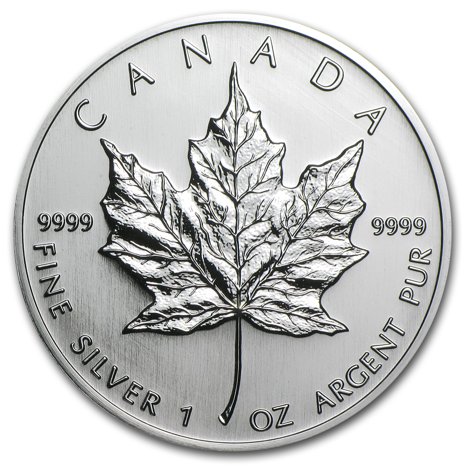2005 Canada 1 oz Silver Maple Leaf BU